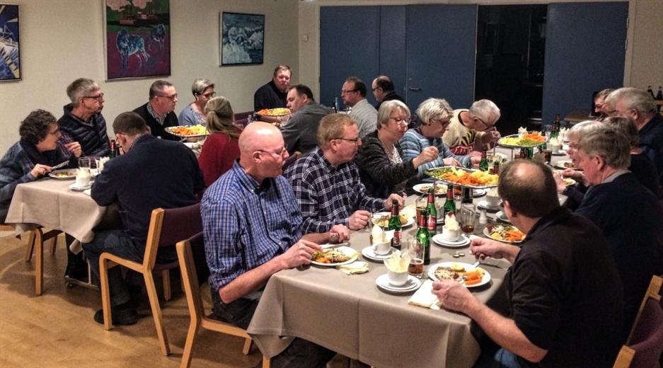 Middage til generalforsamlingen Valgmeninghedens hus i Holstebro 2017